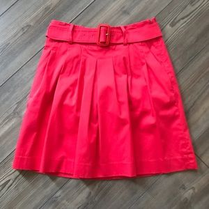 The Limited Pleated Belted Skirt Size 0